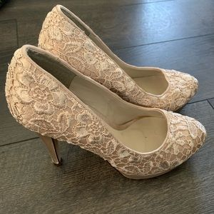 Spring Lace Heels